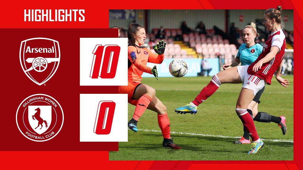 Highlights -  Arsenal 10-0 Gillingham - Musventurenal