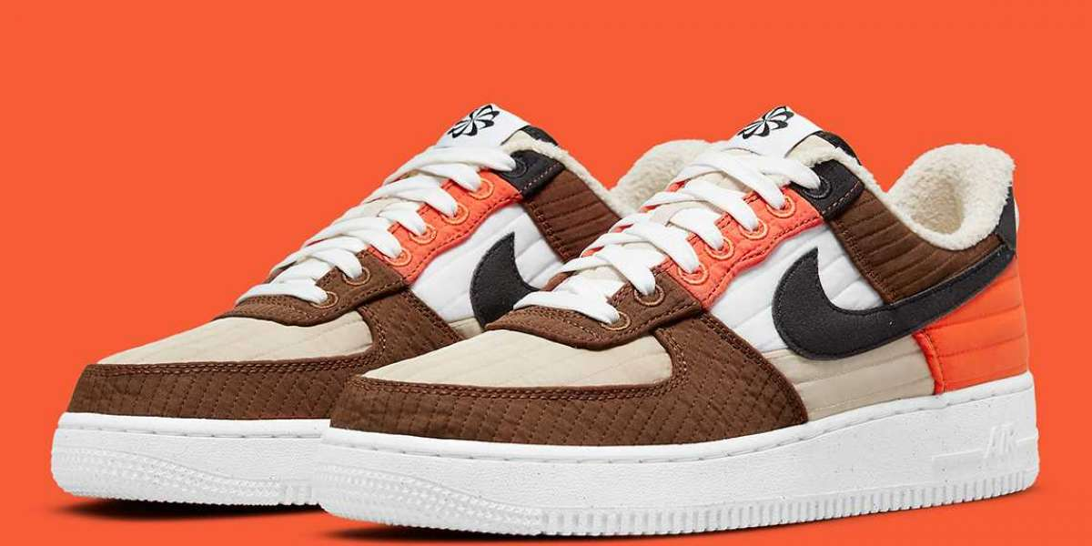 """Nike Air Force 1 '07 LXX """"Toasty"""" DH0775-200 release information"""