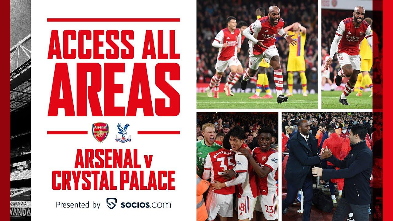 ACCESS ALL AREAS   Arsenal Vs Crystal Palace - Musventurenal